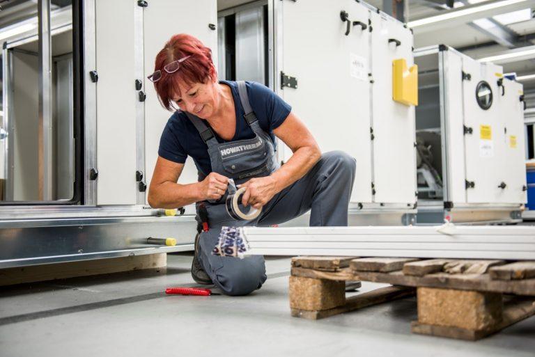 Frauen in Industriebetrieben – Howatherm